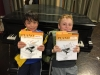 kids with piano lesson book